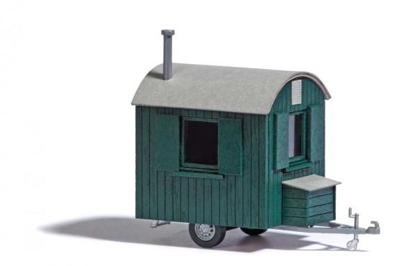 Forstwagen Grün H0