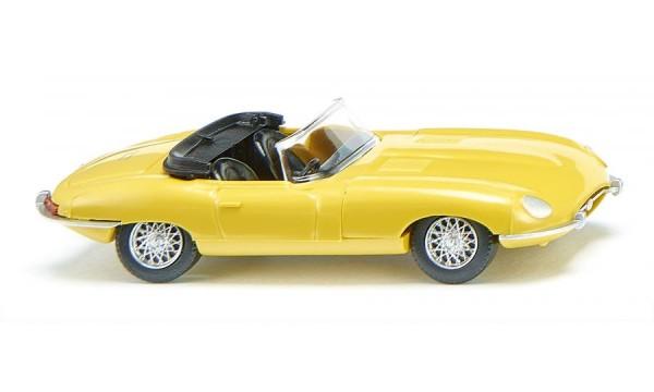 Jaguar E-Type Roadster - gelb