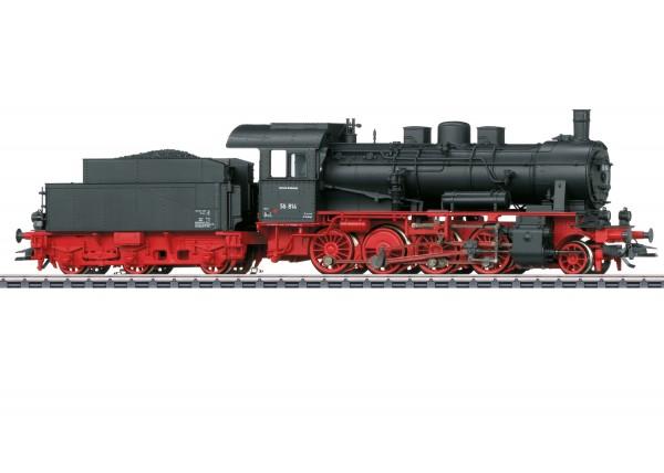 Güterzug-Dampflok BR 56 DB