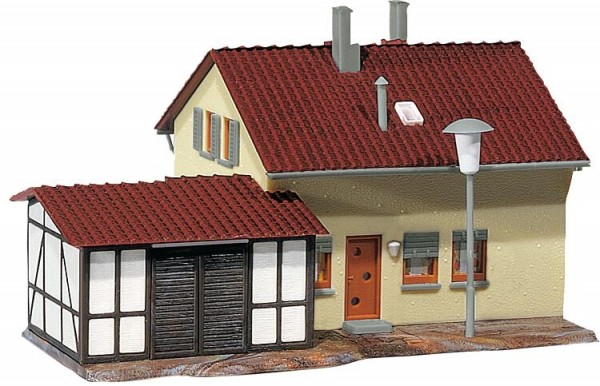 Siedlerhaus mit Anbau