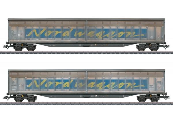 Schiebewandwagen-Set Nordwagg