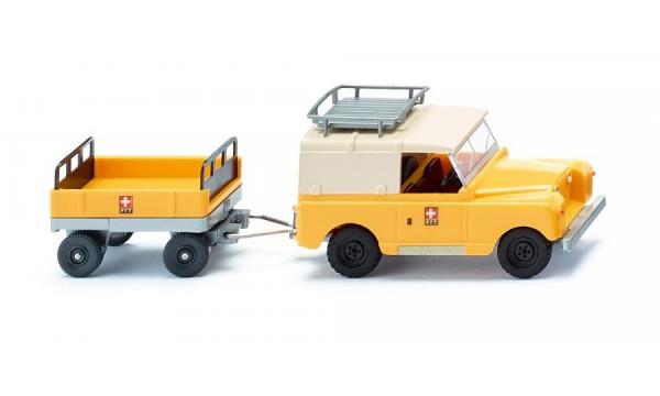 """Land Rover mit Anhänger """"PTT"""""""