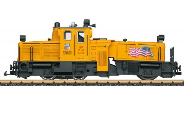 Schienenreinigungslok USA