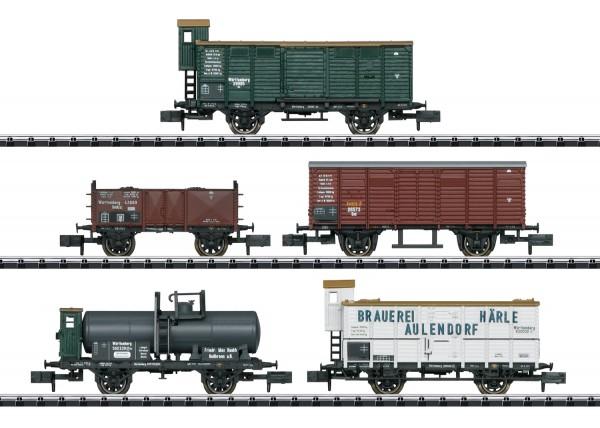 Güterwagen-Set 175 Jahre K.W.