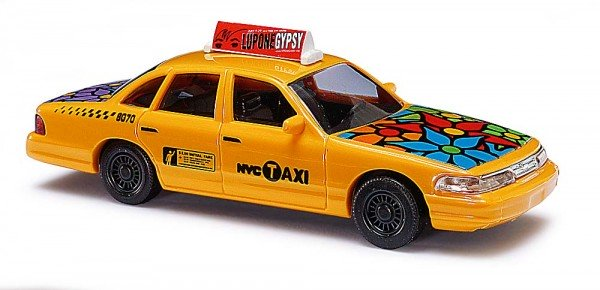 Ford Crown Taxi flower power