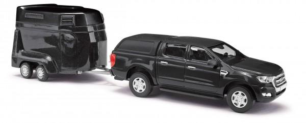 Ford Ranger mit Pferdeanhänge