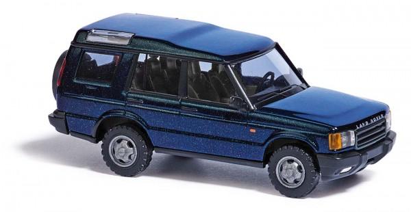 Land Rover Metallica blau