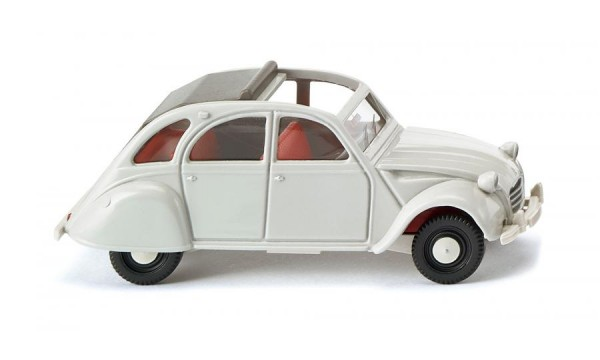 Citroën 2 CV - achatgrau