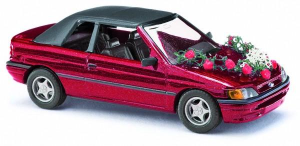 Ford Escort Cabrio Hochzeit
