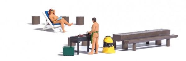 A-Set: Nackt grillen H0