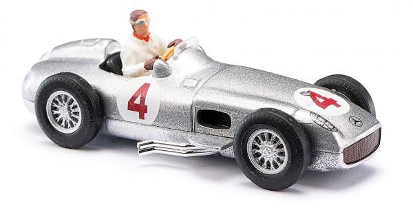 MB Silberpfeil+Fahrerfigur Fa
