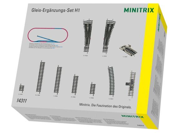 Gleis-Ergänzungspackung H1