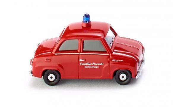 Feuerwehr - Glas Goggomobil