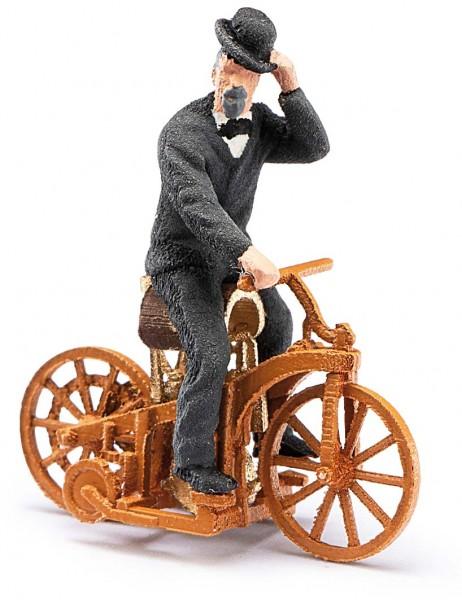 Daimler-Reitwagen + Figur