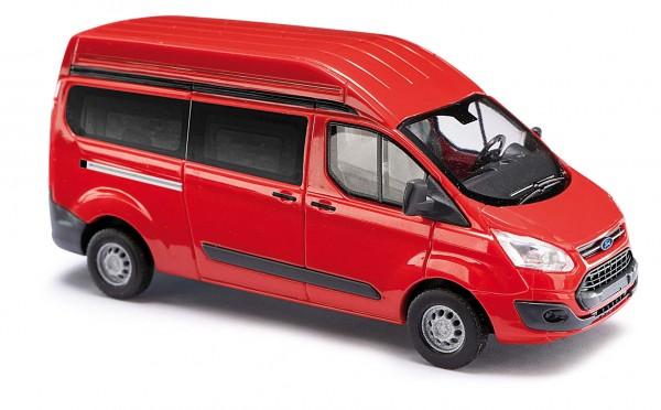 Ford Transit Hochdach Bus rot