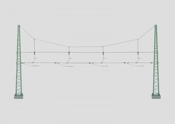 Quertragwerk für 4 Gleise